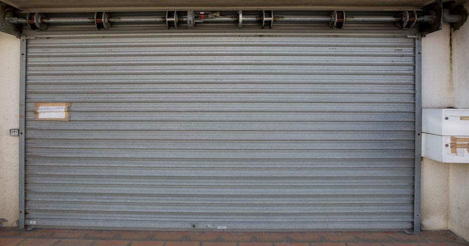 Security rollup door repair Monroe County